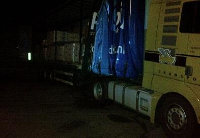 xtc grondstoffen vrachtwagen rilland