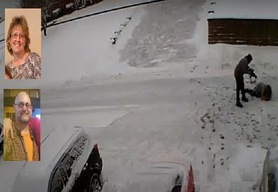pennsylvania schietpartij sneeuw